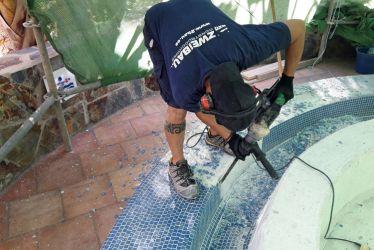 Mosaik Abriss