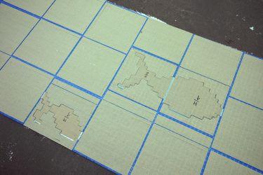 Mosaikbilder Handarbeit